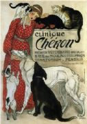 Clinique Cheron. Vintage French Advertising Poster.